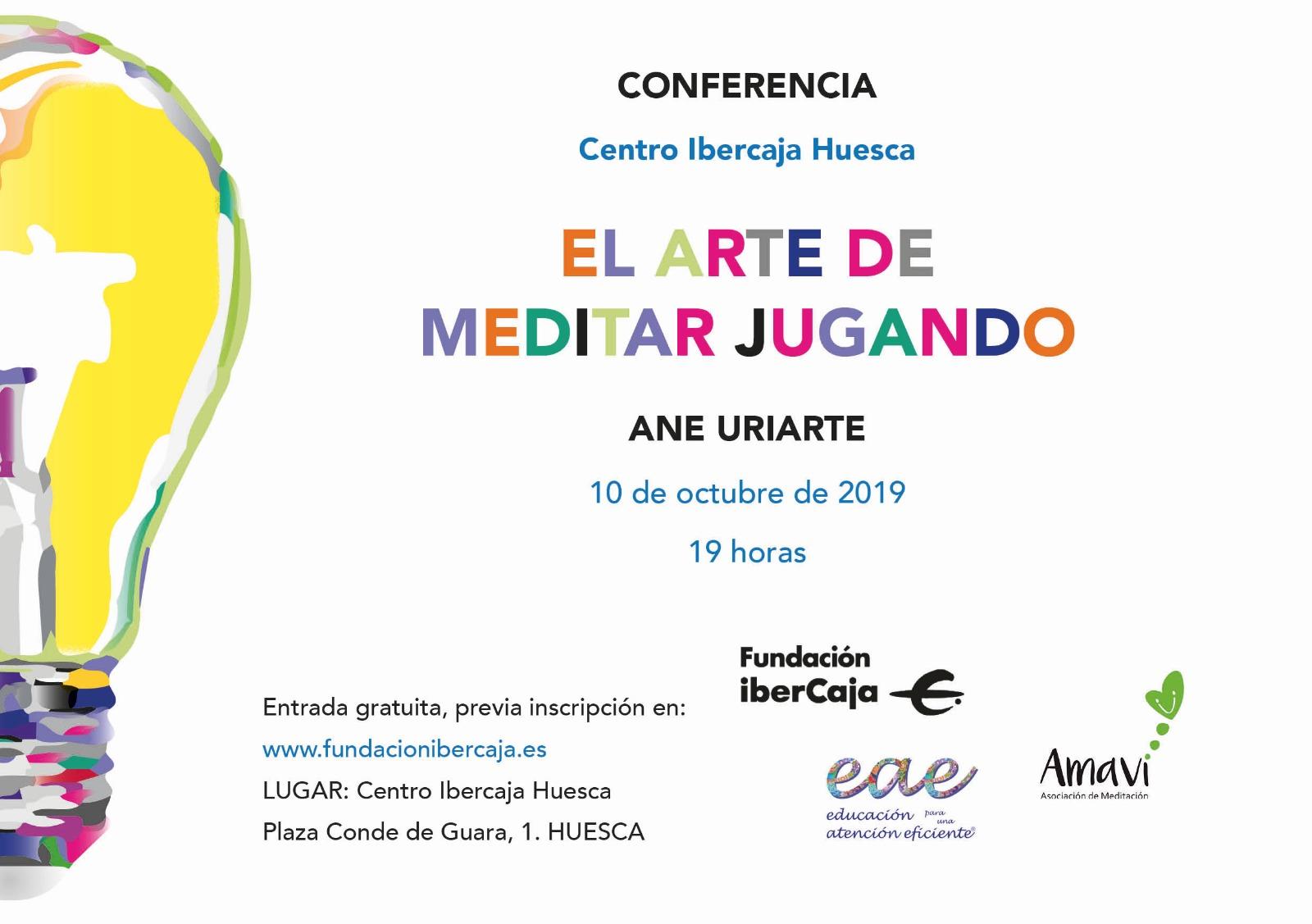 """CONFERENCIA: """"El Arte De Meditar Jugando"""""""