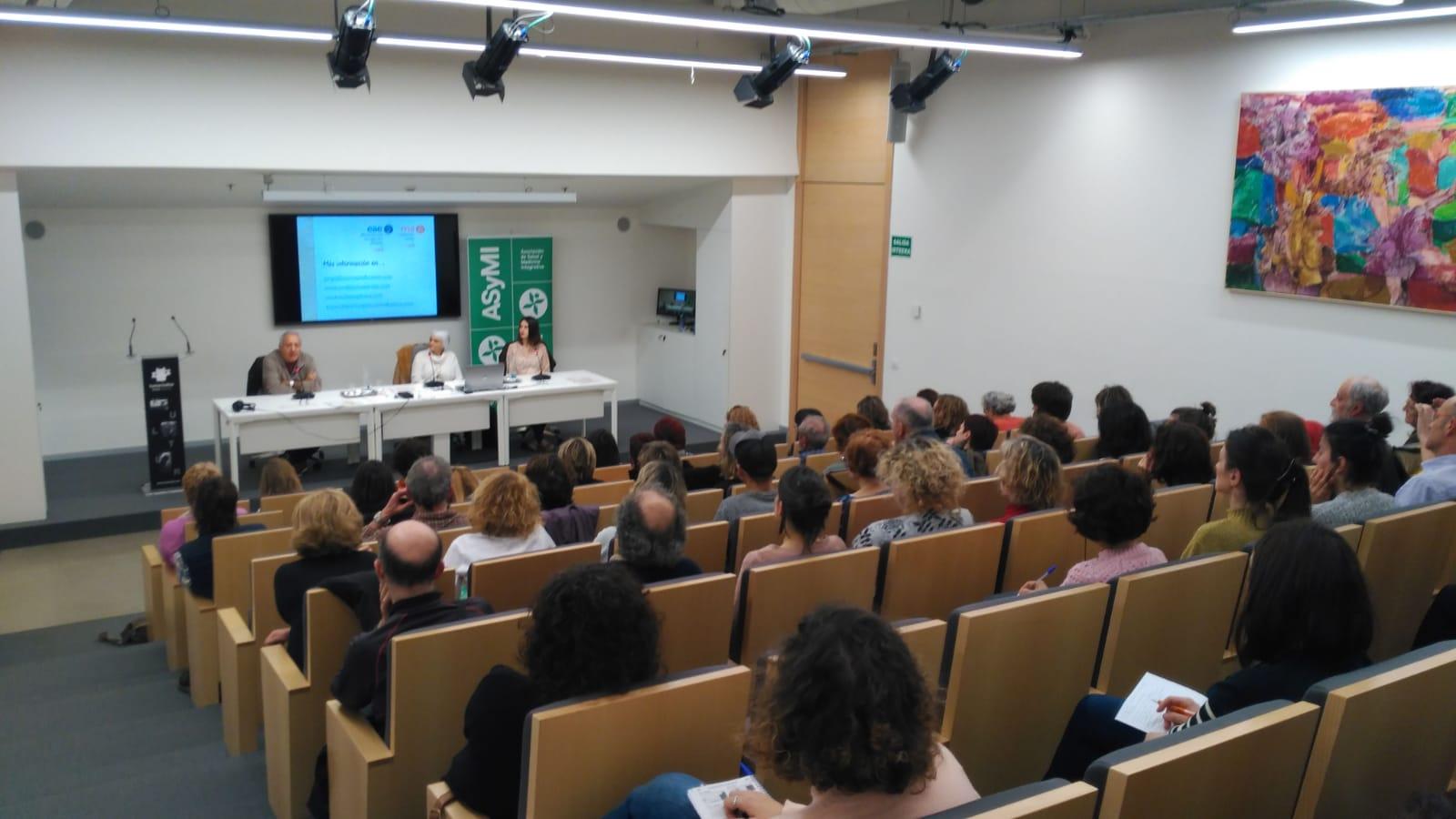 ASyMI APOYANDO LAS PRESENTACIONES DE LAS UNIDADES PEDAGÓGICAS EN BILBAO Y DONOSTIA